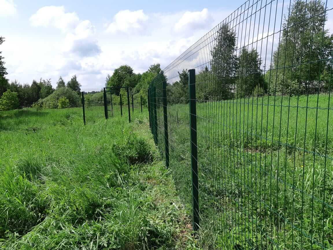 Забор из сварной сетки ПВХ, Егорьевский район, Федотиха